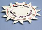 Touch Test 2 Point Discriminator