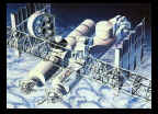 Artist's Rendition of International Space Station