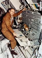 Typical Posture of an Astronaut in Zero-g