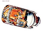 Cutaway Drawing of the Orbital Workshop (OWS)