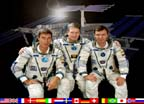 ISS Expedition One Crew Portrait