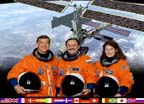 ISS Expedition Two Crew Portrait