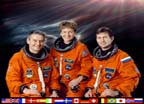 ISS Expedition Five Crew