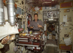 Meal Preparation on ISS