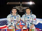 ISS Expedition Seven Crew Portrait
