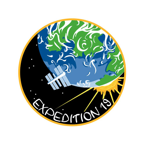 ISS Expedition 19 Crew Patch