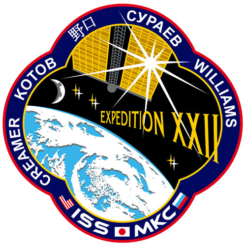 ISS Expedition 22 Crew Patch