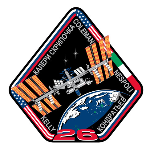 ISS Expedition 26 Mission Patch