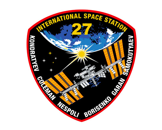 Expedtion 27 Crew Patch