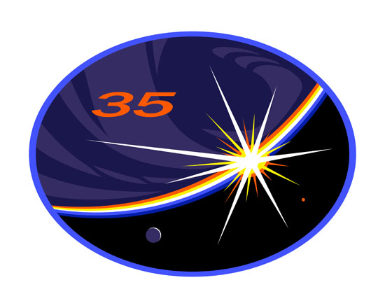 ISS Expedition 35 Crew Patch