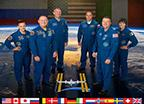 ISS Expedition 42 Crew Portrait