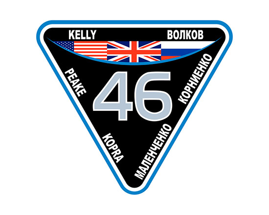 ISS Expedition 46 Crew Patch
