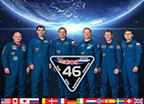 Expedition 46 Crew Portrait