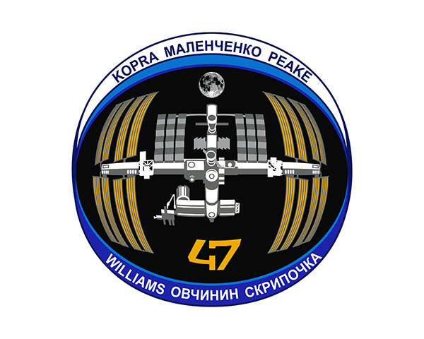 ISS Expedition 47 Crew Patch