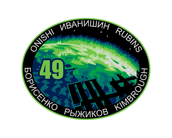 ISS Expedition 49 Crew Patch