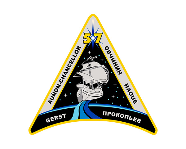 Expedition 57 Mission Patch
