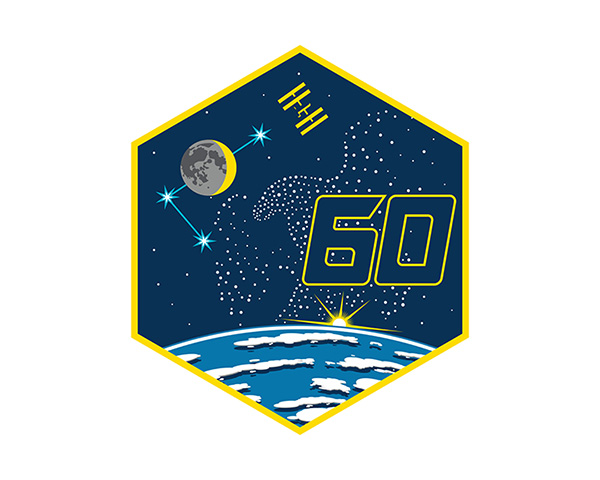 Expedition 60 Mission Patch
