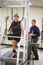 John Phillips on Treadmill Portion of Mobility BDC