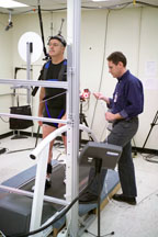 John Phillips Performs Treadmill Portion of Mobility