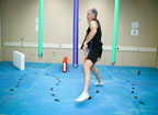 John Phillips Navigates Obstacle Course During Mobility BDC