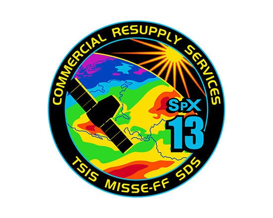 SpaceX_13 Mission Patch