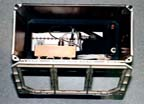 Microgravity Measuring Device (MMD) Mounted in Middeck Locker