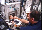 Preparing Blood Samples on the ISS