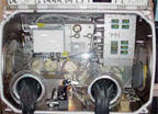 Close-Up View of the Microgravity Science Glovebox (MSG)