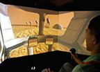 Rover Simulation Interior View