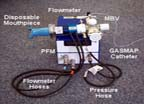 PuFF Pressure-Flow Module (PFM) and Manual Breathing Valve (MBV) Assembly