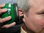 Otoacoustic Hearing Assessment Headset and Probe Placement