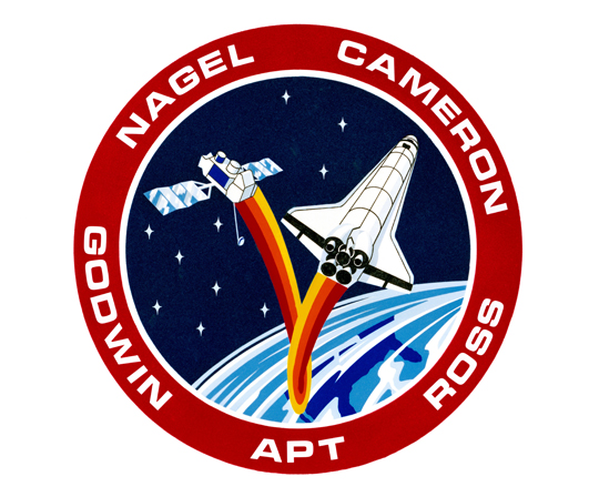 STS-37 Crew Patch