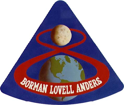 Apollo 8 Crew Patch