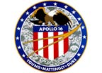 Apollo 16 Crew Patch