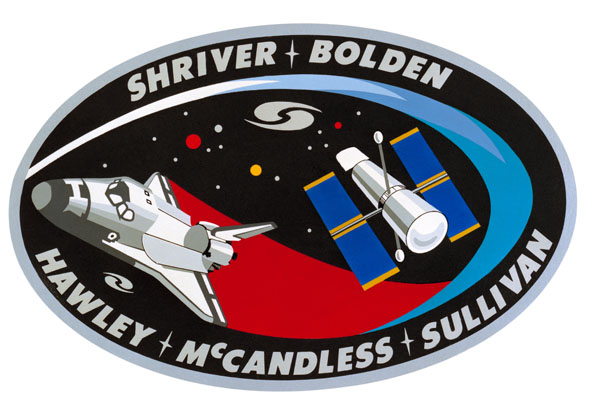 STS-31 Crew Patch