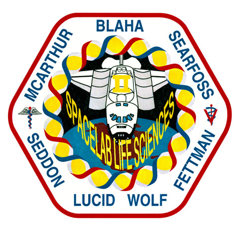 STS-58 Crew Patch