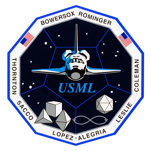 STS-73 Crew Patch