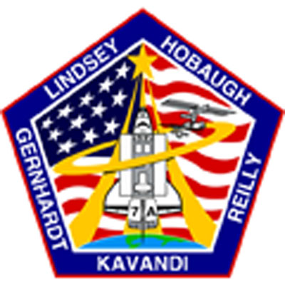 STS-104 Crew Patch