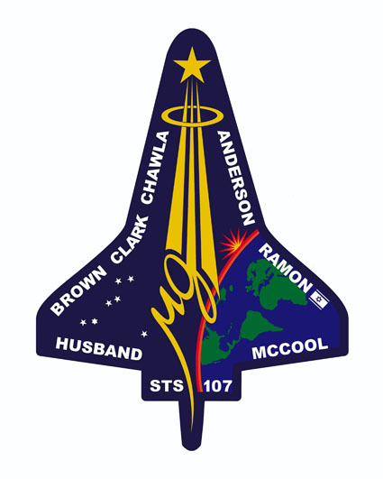 STS-107 Crew Patch