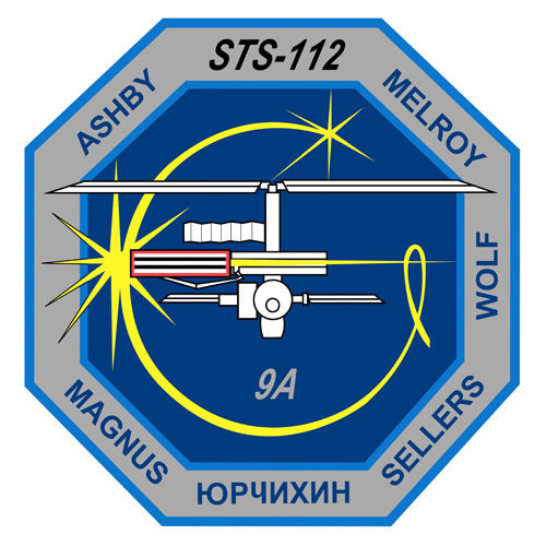 STS-112 Crew Patch