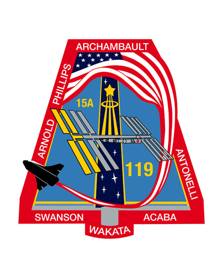 STS-119 Crew Patch
