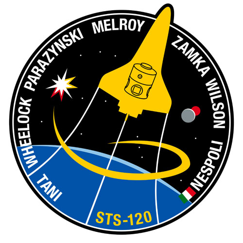 STS-120 Crew Patch
