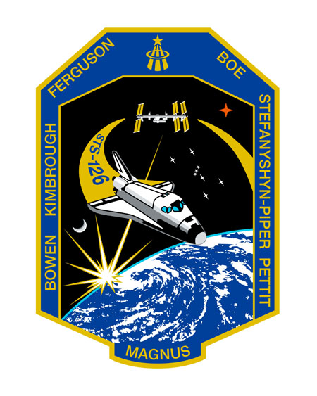 STS-126 Crew Patch