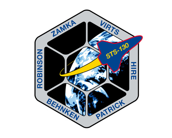 STS-130 Crew Patch